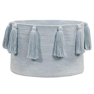 Franjas (Tassels) Azul 30 x 45 x 45 cm