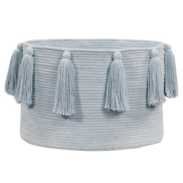 BSK TAS BL 1 1 600x600 - Franjas (Tassels) Azul 30 x 45 x 45 cm
