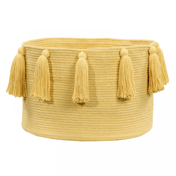 BSK TAS Y 1 600x600 - Franjas (Tassels) Amarelo 30 x 45 x 45 cm