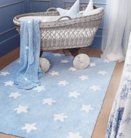 Estrelas Azul 120 x 160 cm