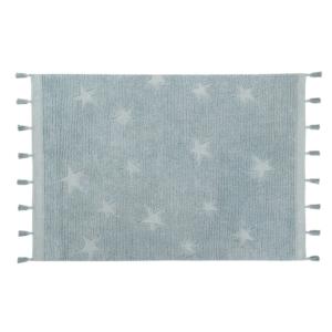 Estrelas Hippy Aqua 120 x 175 cm