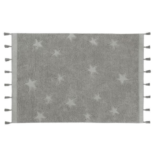 C HI ST GREY 600x600 - Estrelas Hippy Cinza 120 x 175 cm