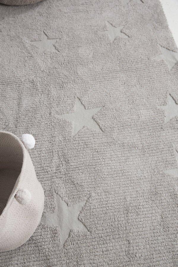 C HI ST GREY 9 600x900 - Estrelas Hippy Cinza 120 x 175 cm