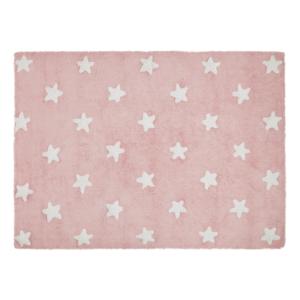 Estrelas Rosa 120 x 160 cm