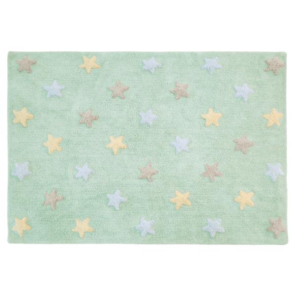 C ST SM 600x600 - Estrelas Tricolor Menta 120 x 160 cm