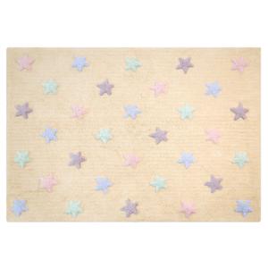 Estrelas Tricolor Baunilha 120 x 160 cm