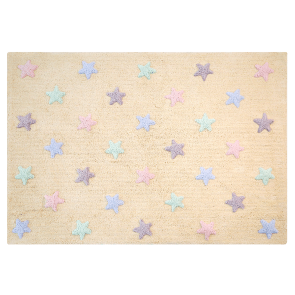 C ST V 600x600 - Estrelas Tricolor Baunilha 120 x 160 cm