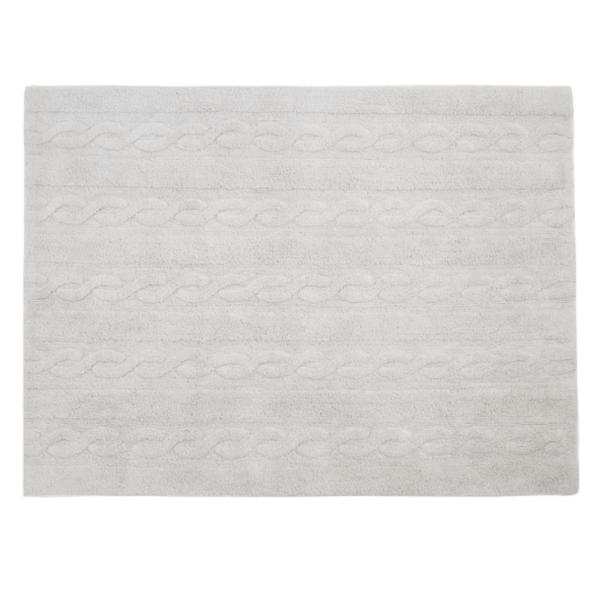 C TR PG 600x600 - Trança Cinza Perolado 120 x 160 cm