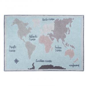 Mapa mundi Vintage 140 x 200 cm
