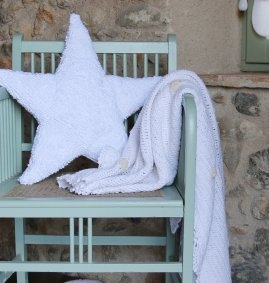 Estrela Branca 50 x 50 cm