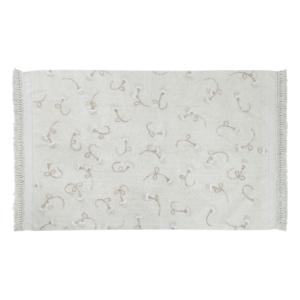 Tapete lavavel Garden Marfim 210 x 140 cm