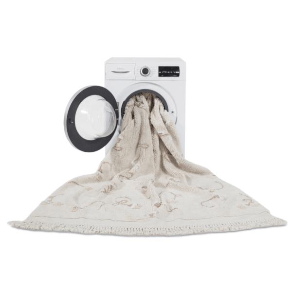 C GARDEN IVO 4 600x600 - Tapete lavavel Garden Marfim 210 x 140 cm