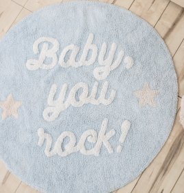 Tapete lavavel Baby you rock 120 cm