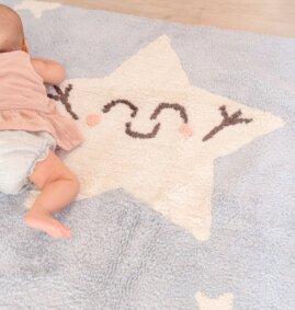 Tapete lavavel  Star 120 x 160 cm