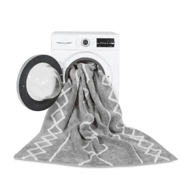 C OASIS GRN 2 600x600 - Tapete lavavel Oasis cinza 120 x 160 cm