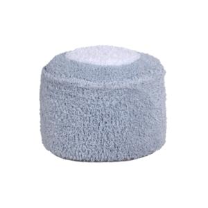 Puff Marshmallow Azul 27 x 27 x 18 cm