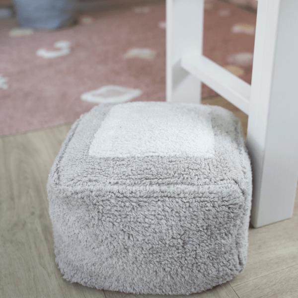 P MALLOW PGR 4 600x600 - Puff Marshmallow cinza perolado 30 x 39 x 18 cm