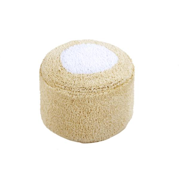 P MALLOW VAN 1 600x600 - Puff Marshmallow Baunilha 27 x 27 x 18 cm