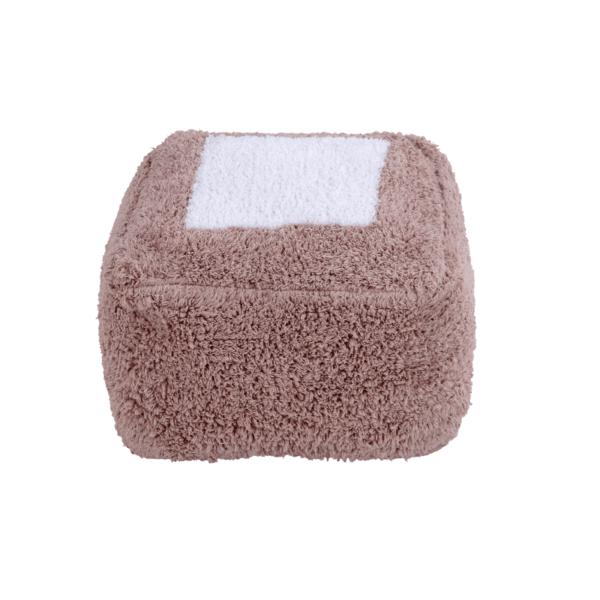 P MALLOW VNU 1 600x600 - Puff Marshmallow Vintage Nude 30 x 39 x 18 cm