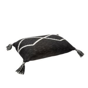 Almofada Oasis Black 30 x 48 cm
