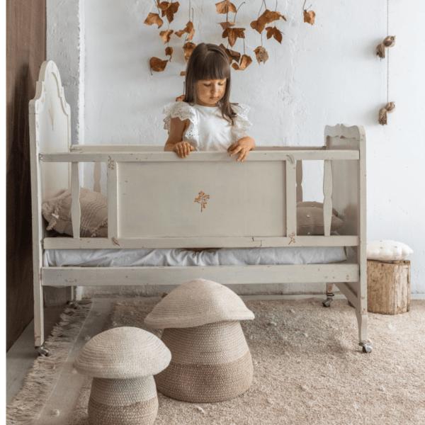 BSK MUBABY 8 600x600 - Cesto Baby Mushroom 23x27 cm