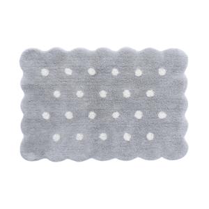 Mini Biscuit Pearl Grey 70 x 100 cm