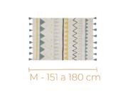 Tapetes M - 151 a 180 cm