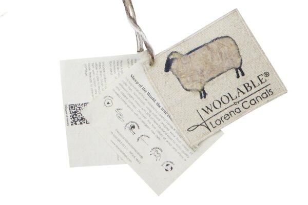 WO STEPPE BG S LB 1 600x400 - Woolly Sheep Bege 75 x 110 cm