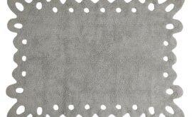 Renda Cinza 120 x 160 cm