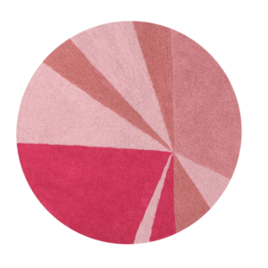 Geometrico Rosa 160 cm